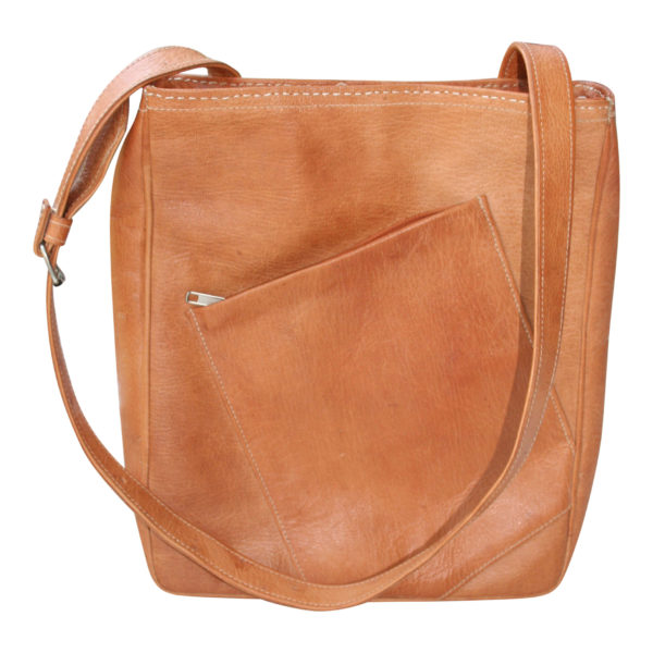 c4129f0797c ... Fairtrade lederen 'Bruno' tas. Out of stock