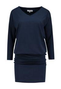 jurk donkerblauw_front half size