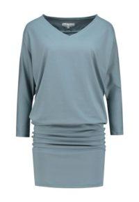 jurk turquoise_front half size