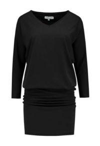 jurk zwart_front half size