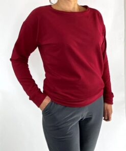 bordeaux bio sweater