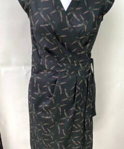 Ava overslag jurk